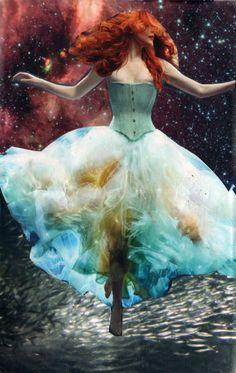 Goddess Soul Collage cards Julie Howlin