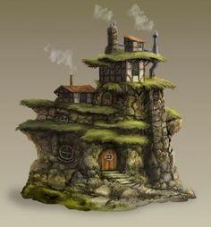 DeviantArt: More Like Grida's home by Fesbraa