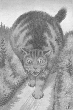 Theodor Kittelsen (1857-1914) Asbjørnsen og Moe: Illustrerede eventyr, udvalgte folkeeventyr. 1907