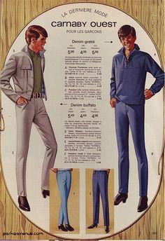 Mod Carnaby Street fashion 1967 by Patrick from Parka Avenue, via Flickr