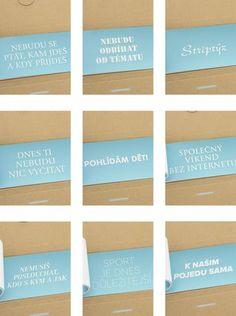 ZOOT Originál - Šeková knížka splněných přání  pro muže - 1 Gift Ideas, Gifts, Inspiration, Biblical Inspiration, Presents, Favors, Gift, Inspirational, Inhalation