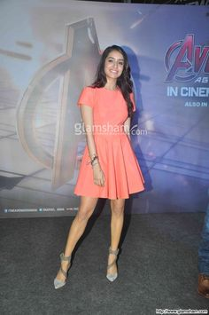 Shraddha Kapoor In Short Frock at Bollywood Beauties In Hot Short Frocks picture gallery picture # 152 : glamsham.com