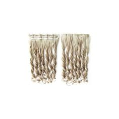 Clip-In Hair Extension - Wavy ($6.23) ❤ liked on Polyvore featuring beauty products, haircare, hair styling tools, accessories and wig