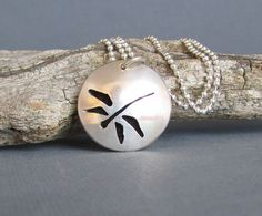 Sterling Silver Essential Oil Necklace  by QuietTimeJewelry, $74.75