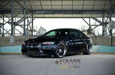 BMW E92 M3 on Strasse forged wheels
