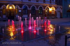 Strūklaka Rožu laukumā, Cēsīs, Cesis, Latvia - Photo: Aivars Gulbis, redzet.lv