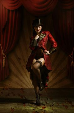 Today we are going to share Stunning Photography of Nadja Ellinger. Circus Aesthetic, Circus Fashion, Dark Circus, Circus Art, Womens Dress Suits, Frock Coat, Night Circus, Lesbian Wedding, Frack