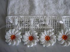 BARRADO 2 - PAP - Aqui : http://oficinadobarrado.blogspot.com/2011/05/croche-explicando-um-novo-barrado.html MENSAGEM : Este fiz em...