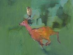 Gabhann Dunne (b. 1975) - He Rode Him Softly (Date Unknown)