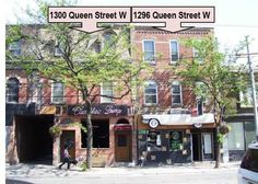 1296 Queen St W, Toronto W01, ON M6K 1L4. 0 bed, 0 bath, $7,500,000. Two renovated 3-Stor...