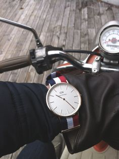 Daniel Wellington Watch. The classic cambridge style, with an interchangeable band. The ultra-thin (6mm) Daniel Wellington watch is suitable for every occasion. Can be purchased on brandswalk.com or at the store in Costa Mesa, CA.