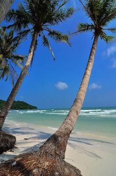 Bai Sao, Phu Quoc, Vietnam W0W---what a tropical paradise here... ~*~moonmistgirl~*~