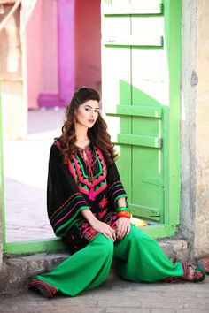 Rang Ja Party Wear Dresses Designs 2013