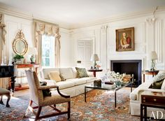 Traditional Living Room by Gomez Associates Inc. in Washington, D.C.