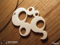 I want this! Beautiful necklace made from Corian