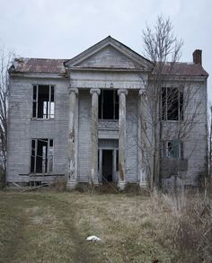 Abandoned Civil War Mansion