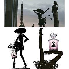 La Petite Robe Noire by Guerlain, Perfume Ads