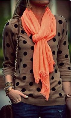 Polka Dot Sweater. Fall 2016 Outfit. Try Stitch fix the best clothing subscription box ever! September style trends 2016. Only $20! Sign up now! Just click the pic...You can use these pins to help your stylist better understand your personal sense of style. #Stitchfix #Ad #Sponsored