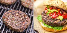 Show your grill some plant-based love. These savory burgers are quick to make and delicious for all BBQ attendees.