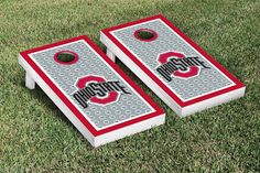 Show your team spirit with these super rad Ohio State cornhole boards! $199.99