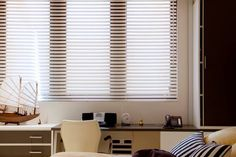 Louverwood® Collection by Vertilux Blinds For Windows, Window Blinds, Horizontal Blinds, Shades Blinds, Wood Blinds, Window Coverings, Curtains, Room, Home Decor