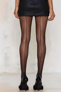 Not What They Seam Tights - Socks + Legwear | Back In Stock | Back In Stock | Black Friday Accessories