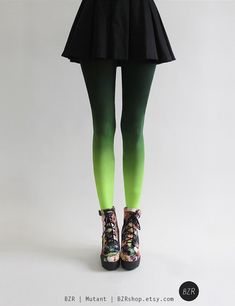 BZR Ombré tights in Mutant