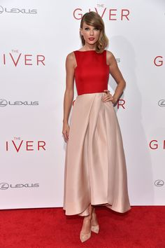 At The Giver premiere in New York City on Aug. 11, 2014.  -Cosmopolitan.com