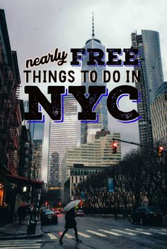 Traveling to New York City doesn't mean you need to break the bank! Check out our list of nearly Free Things to do in New York City featuring the best museums in New York City, the best activities to do in New York City for cheap, the best views of New Yo New York City Vacation, New York City Travel, York Things To Do, Free Things To Do, Travel Packing, Travel Usa, Travel Guide, Travel Hacks, Travel Essentials