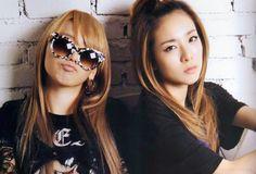 2NE1...Those girls are adorable!
