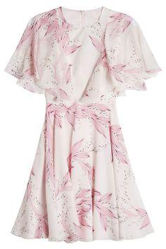 New Giambattista Valli Printed Silk Dress fashion online. [$1013]?@shop.sladress<<