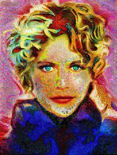 "Saatchi Art Artist John Lijo Bluefish; Collage, ""I'm expecting someone"" #art"