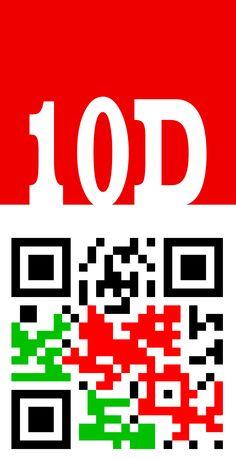 QR code 10D