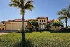 Villa Destiny in schöner Südlage, toller Nachbarschaft im beliebten Südwesten von Cape Coral Spa, Florida, Mansions, House Styles, Home Decor, Gulf Of Mexico, Modern Cottage, Seating Areas, Villas