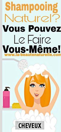 Shampooing naturel? Vous pouvez le faire vous-même! Diy Shampoo, Shampoo Bar, Shampooing Bio, Diy Beauté, Deodorant, Hair Beauty, Cosmetics, Animation, Sport