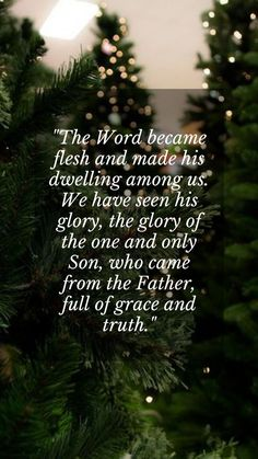 Merry Christmas sayings thoughts and quotes for friends and families on Xmas eve. The Word became flesh and made his dwelling among us. We have seen his glory, the glory of the one and only Son, who came from the Father, full of grace and truth. #MerryChristmasSayingsThoughts #MerryChristmasThoughts #MerryChristmasQuotesForFriends Merry Christmas Wishes Text, Christmas Quotes For Friends, Christmas Thoughts, Christmas Messages, Christmas Humor, Jesus Sayings, Jesus Quotes, Inspirational Christmas Message, Wishes Images