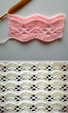 Crochet Designs Most popular crochet stitches - You will love to learn the Most Popular Crochet Stitches and we have the coolest ideas for you to try. Check them all out now and Pin your faves. Crochet Stitches Patterns, Crochet Designs, Stitch Patterns, Knitting Patterns, Unique Crochet Stitches, Blanket Patterns, Love Crochet, Crochet Motif, Crochet Baby