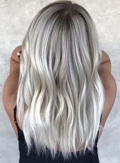 Browse here to see the fantastic ideas of ice blonde hair colors with its beauti.,Browse here to see the fantastic ideas of ice blonde hair colors with its beautiful shades to show off in Ice blonde is one of the top shades wh. Grey Hair Wig, Ice Blonde Hair, Icy Blonde, Silver Blonde, Ice Hair, Blonde Wig, Curly Hair, Carmel Blonde, Light Ash Blonde