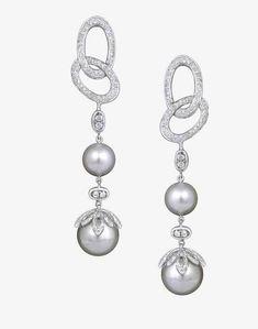10-12 Mm tahiti style Natural Sea Shells Pearl Drop Argent Boucles d/'oreilles
