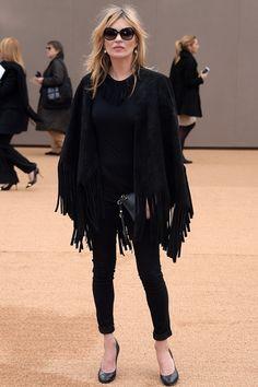 Kate Moss|ケイト・モスバーバリー プローサムのファッションショー会場・ロンドン