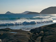 by johnrf Wilsons Promontory, Victoria Australia, Places Ive Been, Surfing, Boat, Mountains, Travel, Image, Dinghy