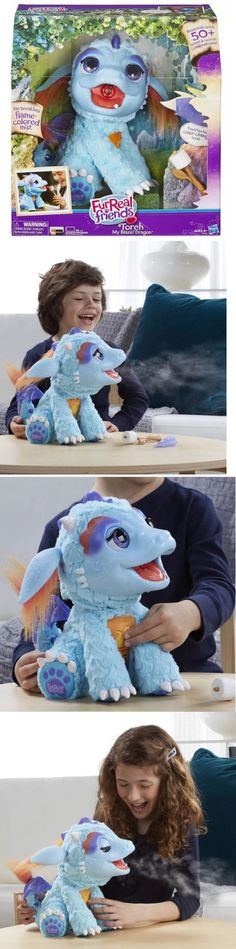 FurReal Friends 38288: Nib Furreal Friends Hasbro Torch My Blazin Dragon -> BUY IT NOW ONLY: $75 on eBay!