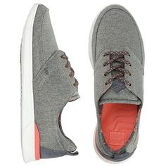 Reef Womens Reef Rover Low (96 AUD) ❤ liked on Polyvore featuring shoes, athletic shoes, dark grey, low shoes, reef shoes, laced up shoes, laced shoes and reef footwear