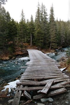 Now would you cross this old rickety bridge?
