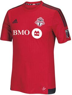 a14423fa228 The new Adidas Toronto FC 2015 Home Jersey features a traditional kit design.  The new Toronto 2015 Jerseys have BOM as main sponsor.