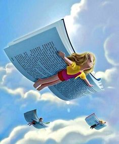 If we love book, ofcourse love took a book I Love Books, Books To Read, My Books, Satirical Illustrations, Reading Art, Kids Reading, Reading Books, World Of Books, Art And Illustration