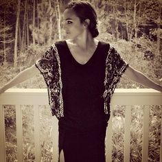 altered drape vest | Trash To Couture: DIY for Cloth magazine. Flapper inspired batwing ...