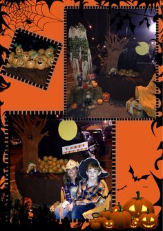 """Trunk or Treat! The pumpkin patch. """"The kids had a blast popping the pumpkins to get their treat!"""""""