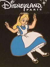 Disney DLRP Pin Alice in Wonderland Falling Event Pin RARE 2007 Pin Trading Day