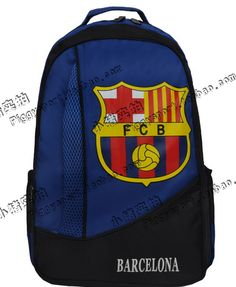 Barcelona Messi backpack bag